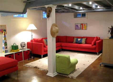 basement area rugs area rug ideas unfinished basement ideas 9 affordable tips bob vila