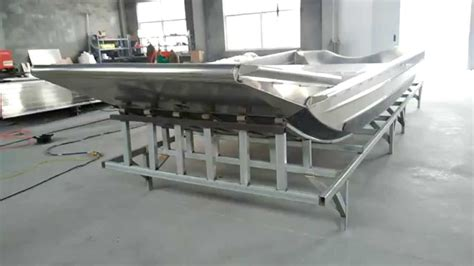 airboat polymer airboat manufacturer in china youtube