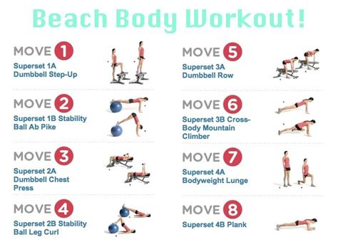 best beachbody workout to lose weight workout from s health magazine via bloom