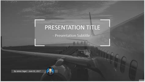 powerpoint templates free aviation powerpoint template free airplane images powerpoint