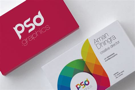 Creative Business Card Free Psd Psd Graphics Download Free And Premium Psd Mockups Templates Business Card Website Template Free