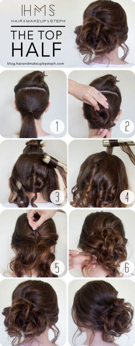 hair tutorials for shoulder length hair 20 easy elegant step by step hair tutorials for long
