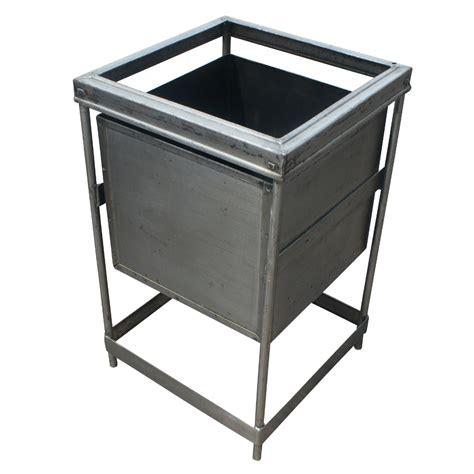 industrial metal storage 1 vintage industrial metal bin storage container ebay