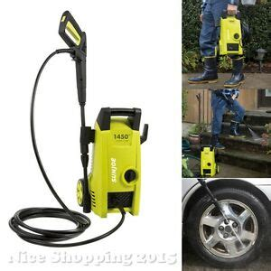 electric power pressure washer water clean  psi yard