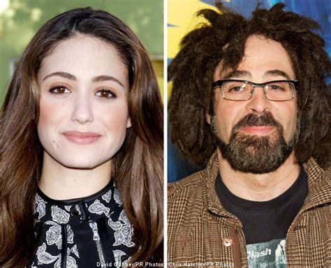 emmy rossum counting crows emmy rossum reportedly dating counting crows adam duritz