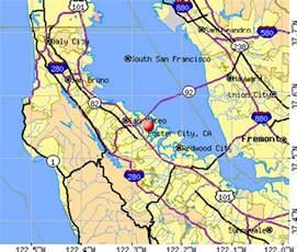 foster city california map foster city california ca 94404 profile population