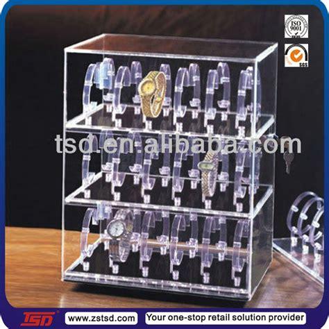 Rak Acrylic Display 4 tsd a747 custom 4 tier clear acrylic display box with lock show box acrylic box with key and