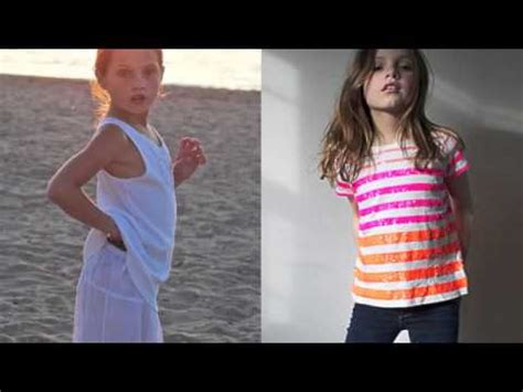 monclotube preteen future faces nyc top child model nina lubarda model