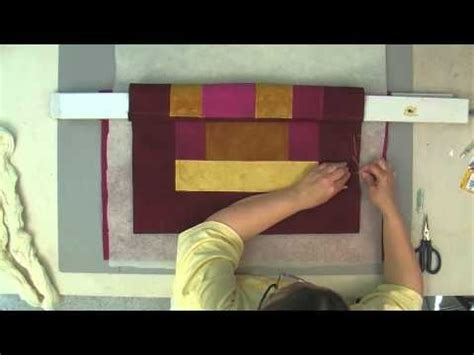 hand quilting tutorial youtube basting a quilt tutorials and the floor on pinterest