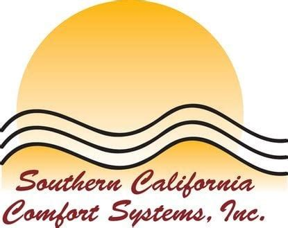california comfort systems southern california comfort systems heating and air