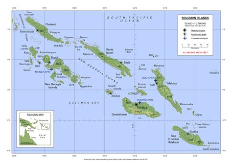 map islands soloman islands map soloman islands mappery