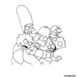 Coloriage Simpson Horror Show Dessin