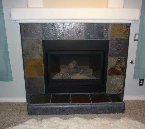 Painting Slate Fireplace by Black Slate Fireplace Surround Decor Mapo House And