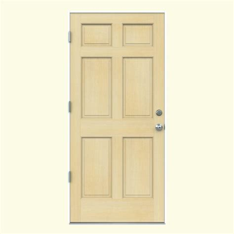 Unfinished Wood Exterior Doors Door 36 In X 80 In Rustic Mahogany Type Stained Distressed Solid Wood Speakeasy Prehung