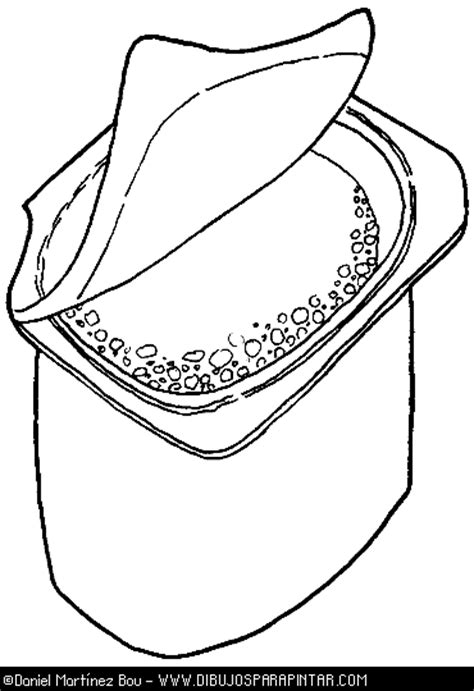 Coloring Page Yogurt by Free Coloring Pages Of Yoghurt