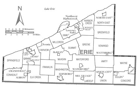 printable map erie pa file map of erie county pennsylvania png wikimedia commons
