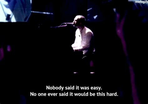 coldplay nobody said it was easy lyrics the scientist coldplay on tumblr