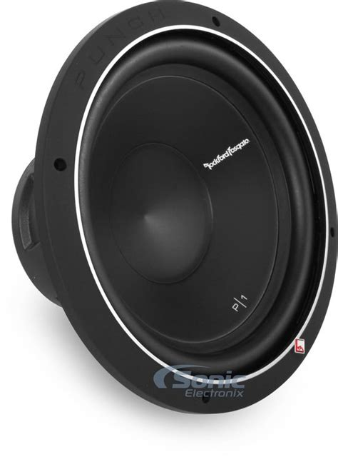 2 rockford fosgate p1s4 12 250w rms 12 quot punch p1 single 4