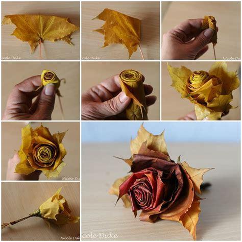 unique ideas creative ideas diy beautiful maple leaf rose