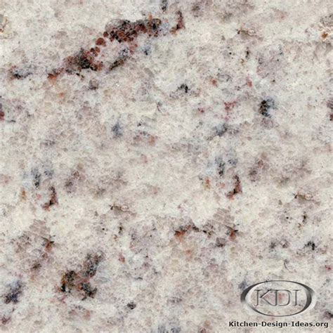 white rose granite kitchen countertop ideas
