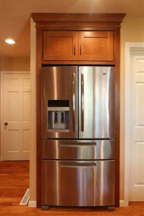 The Pantry Mission by Cherry Mission Style With Granite Counters Schmidt Custom Cabinetry