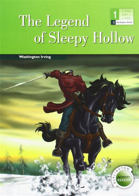 the legend of sleepy hollow bar 1 eso burlington libro en papel 9789963510092