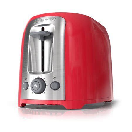 blackdecker  slice extra wide slot toaster redsilver