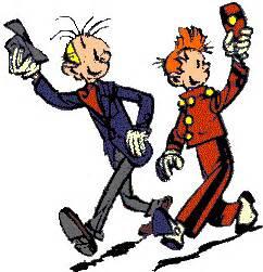 Kaos Tintin 23 gifs animes spirou images animees bd franco belge