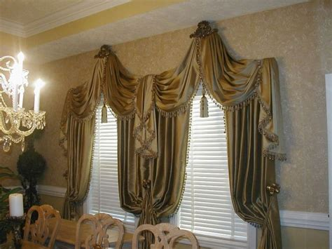 Swags And Cascades Curtains 1000 Images About Swags Cascades Jabots On Pinterest Arch Window Treatments Window Scarf