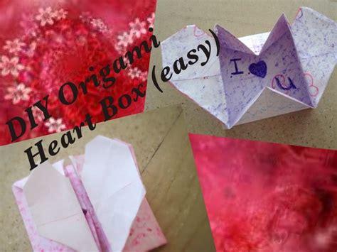 Origami Secret Message - diy origami box secret message easy
