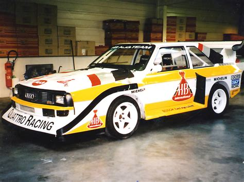 Old Audi Rally Cars by The Umluft