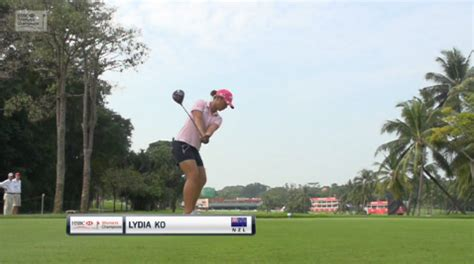 lydia ko swing lydia ko swing analysis hsbc women s world chionship