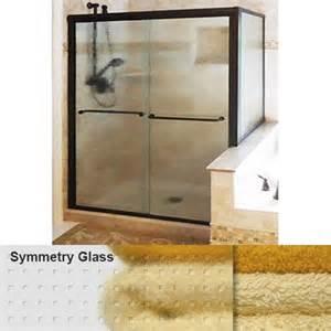 Basco Infinity Shower Door Basco Infinity Frameless Sliding Shower Door With Symmetry Glass 70 Quot H