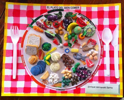 proyectos on pinterest 234 pins maqueta del plato del bien comer hecho con plastilina