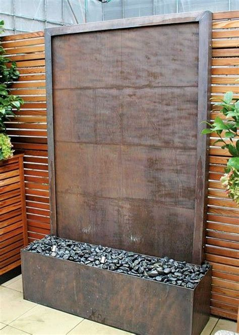 best 25 wall waterfall ideas on pinterest contemporary water feature small garden with