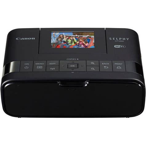 Printer Canon Selphy Cp 1200 Cp1200 Wifi canon selphy 1200 wireless compact photo printer black