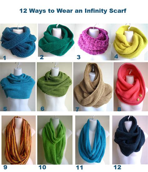 how to wear an infinity scarf 12 ways 40 50