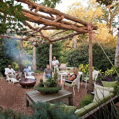 Lone Backyard by 5 Ways To Maximize Your Outdoor Space Cedar Posts Concrete Pad And Cedar Trees