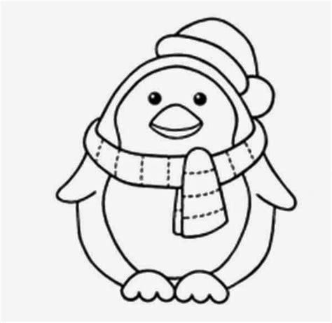 little penguin coloring page mouvement introductif mart 2015