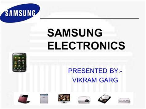 Ppt On Samsung Main Authorstream Samsung Presentation Template