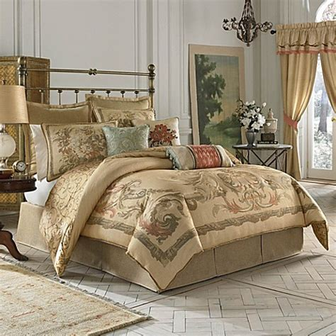 croscill 174 normandy reversible comforter set bed bath
