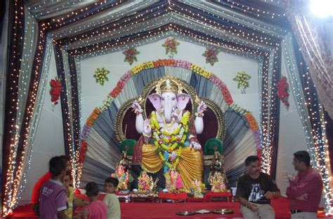 home decoration of ganesh festival photoes of ganpati decoration com joy studio design