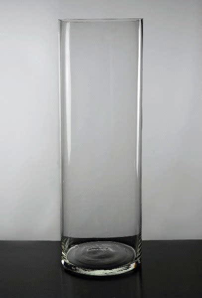 Tall Skinny Glass Vases China Tall Clear Glass Cylinder Vases Ld10004 China