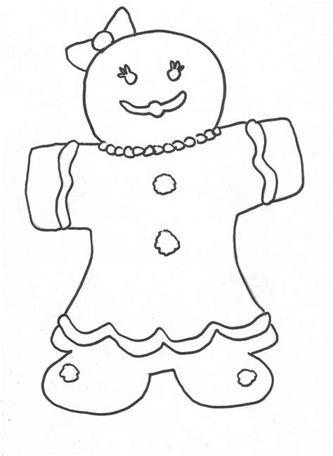 free gingerbread man coloring pages free printable gingerbread man coloring pages for kids