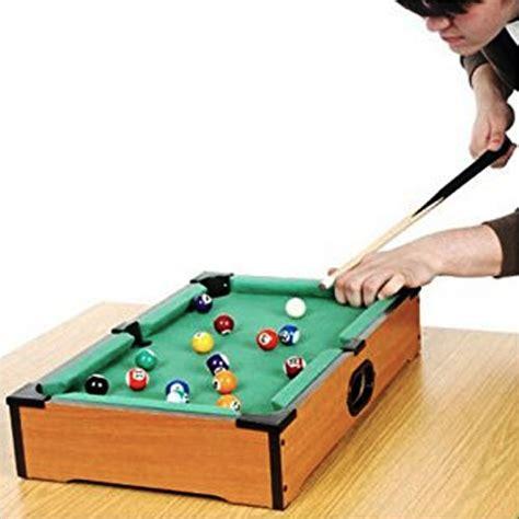 mini biliardo da tavolo mini biliardo gioco da tavolo in legno con 2 stecche palle