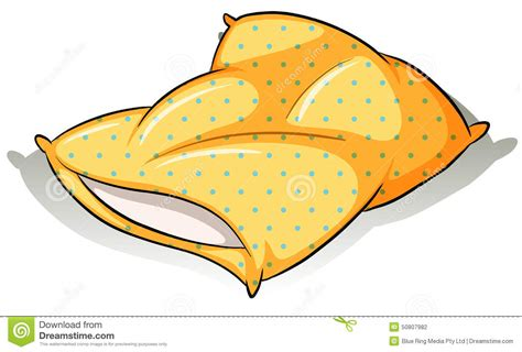 Bettdecke 1 55x2 20 by A Yellow Pillow Stock Vector Image Of Rubber Shams