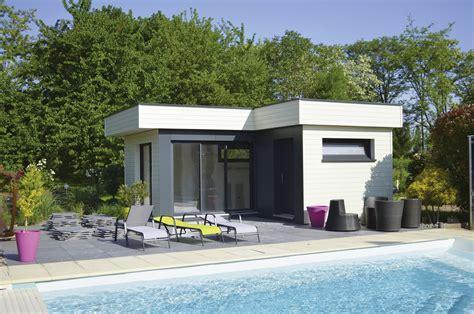 Pool House En by Pool House En Bois Dans Le Haut Rhin 68 Alsace