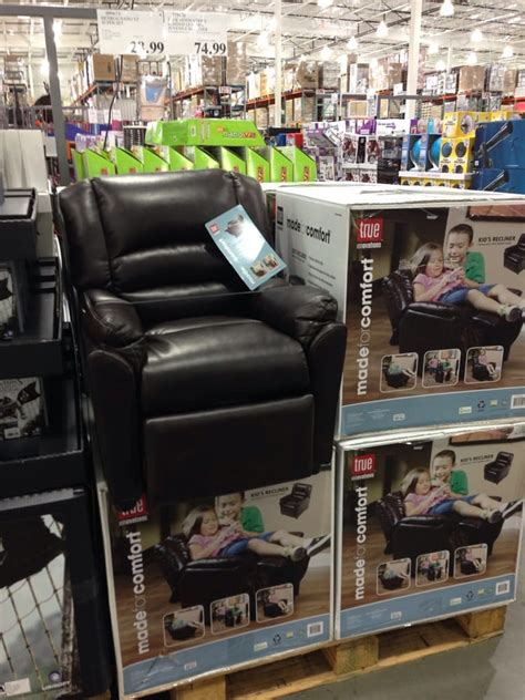 child leather recliner costco kid s leather recliner 75 yelp