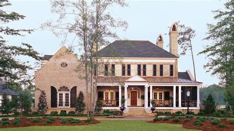 southern living architects 17 house plans with porches southern living