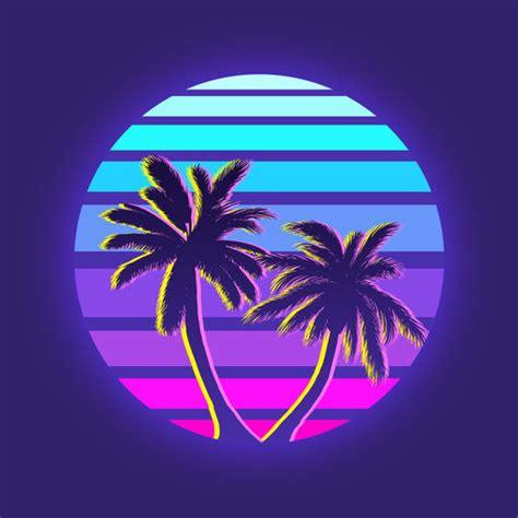 vaporwave icon  getdrawings